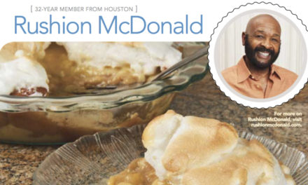 Rushion McDonald featured in Texas Journey Magazine by AAA Texas