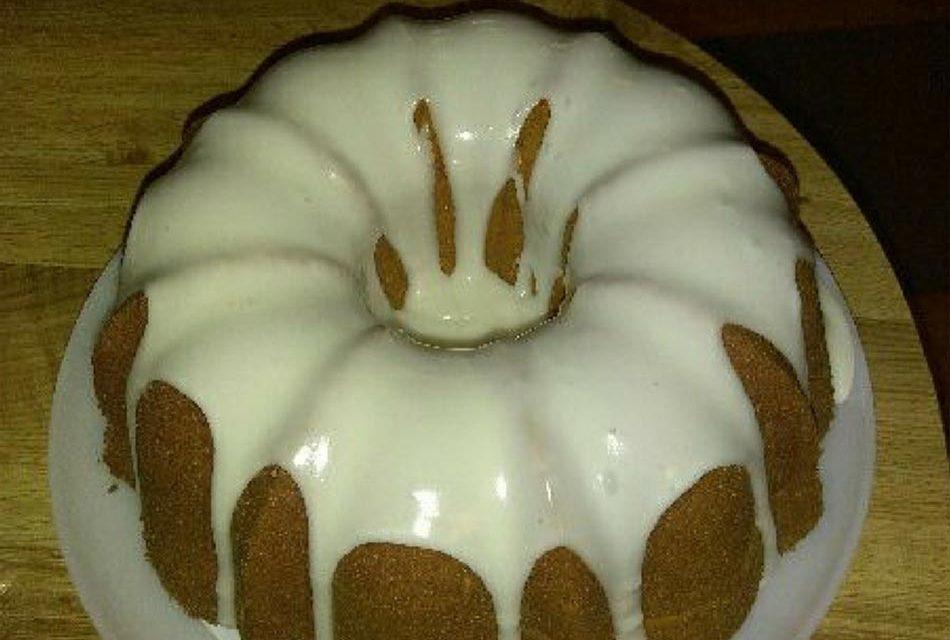 Amaretto Pound Cake by Genia Peoples-Jansen