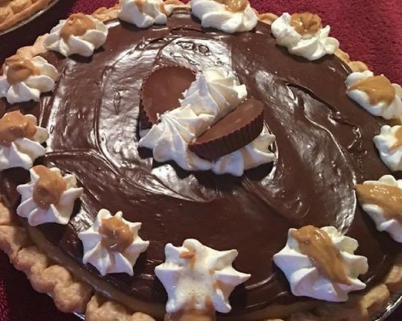Amish Peanut Butter Pie by Teresa Thompson Morgan