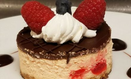 Cherry Chocolate Cheesecake by Jewel A. Edwards