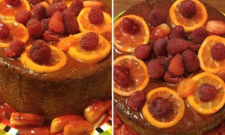 Lemon Raspberry Pound Cake by Arise Faith