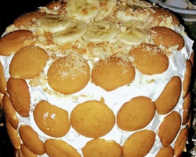 3 Layer Banana Pudding Cake by Ashley Waddy