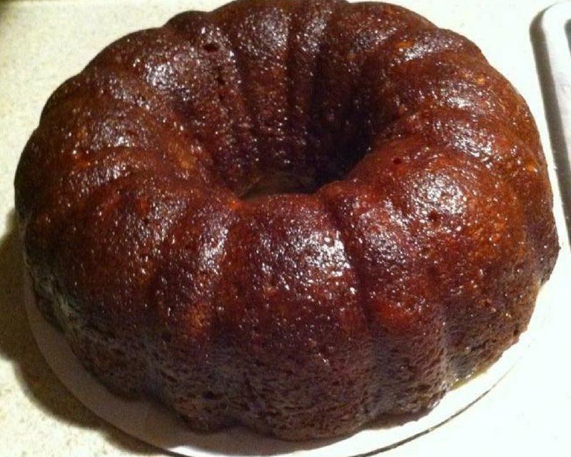 Vanilla Pound Cake by Katherine Bonner