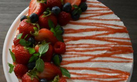 Strawberry Shortcake Mousse Cake by Ellesse Marie Bingham