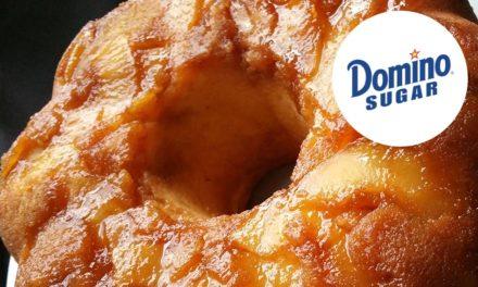 Apple Upside-Down Cake by Octavia Cephas