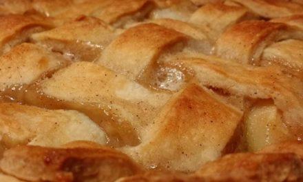Apple Caramel Pie by Angela Diaz