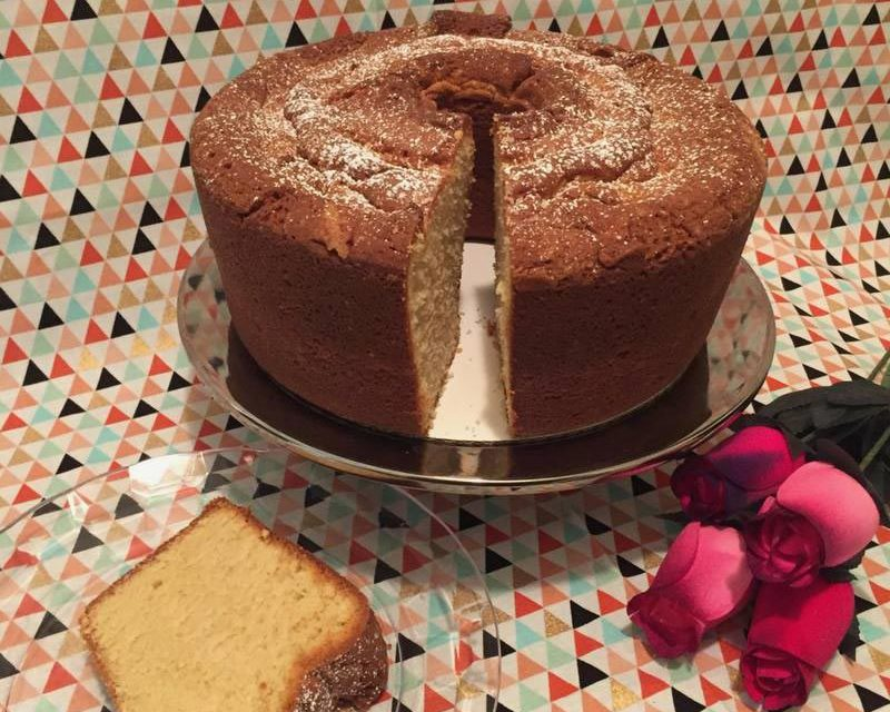 Brown Sugared Sour Cream Poundcake