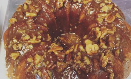 Pecan Praline Sweet Potato Pound Cake by Starlett Simmons