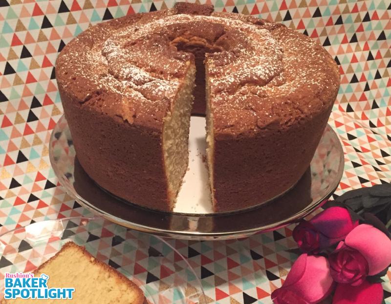 Brown Sugared Sour Cream Poundcake by Janet Williams