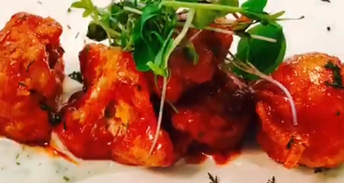 Buffalo Cauliflower Hot Wings