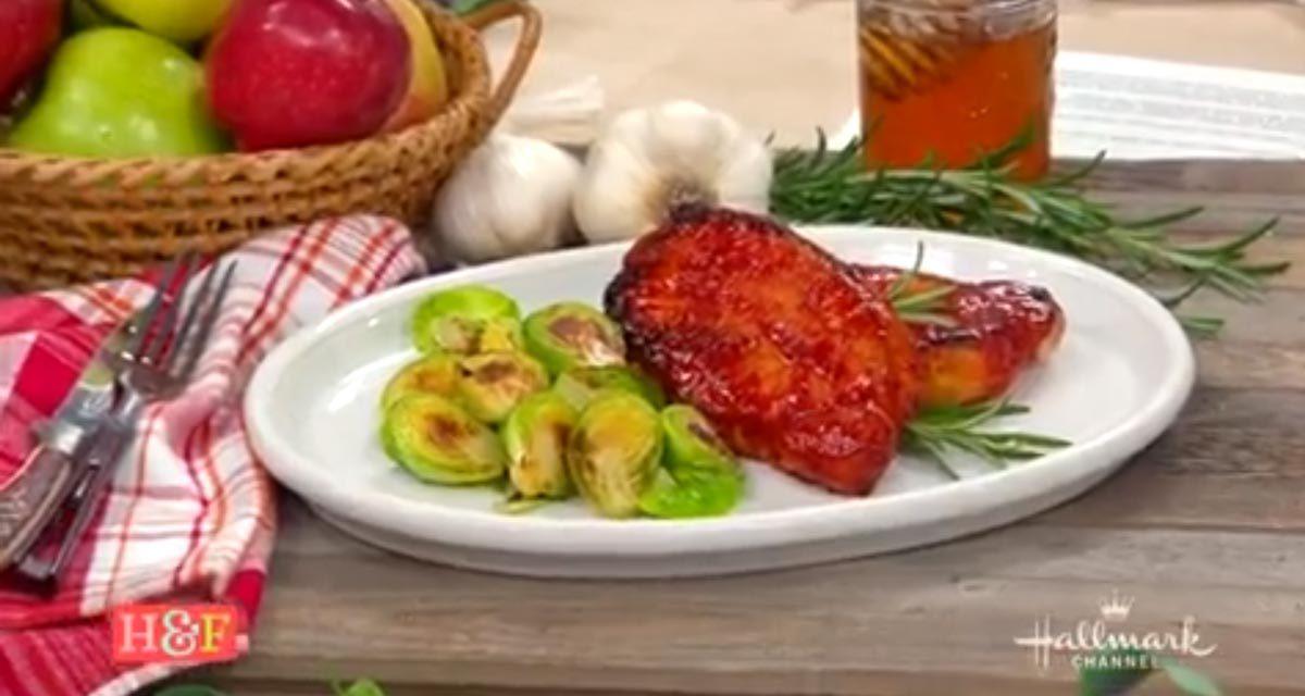 Chef Jernard Wells Makes Honey Pineapple Pork Chops on Hallmark Channel