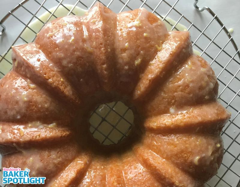 Tasha Williams's Lemon Sour Pound Cake
