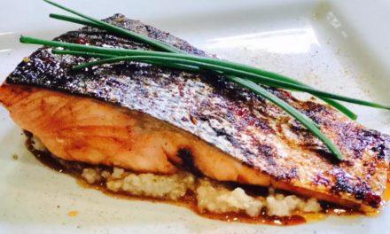 Thai Chili Glazed Salmon