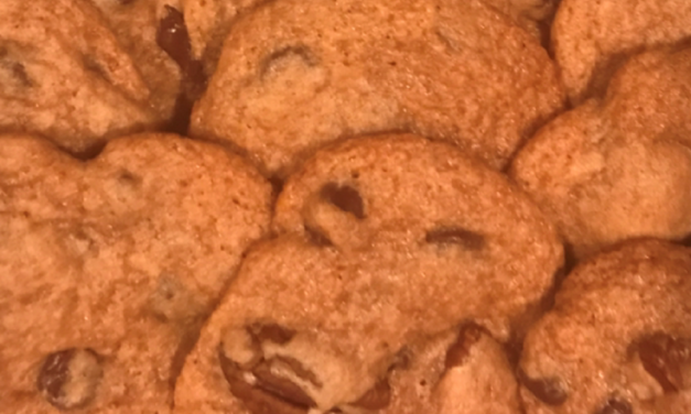 Cherry Jubilee Chocolate Chip Pecan Cookies by Deborah Jennings