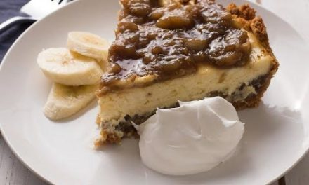 Banana Foster Cheesecake Recipe