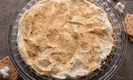 No Bake Marshmallow Apple Pie Recipe