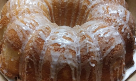 Michael Graham's Decadent Lemon Drizzle Pound Cake