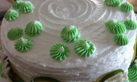 Key Lime Cake by Sandra Simon-Adams