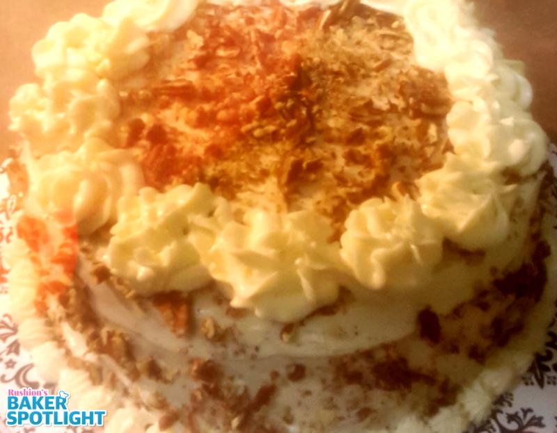 Homemade Red Velvet Cake by Hope Brown