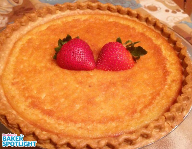 Yanna Johnson's Old Fashioned Southern Buttermilk Pie