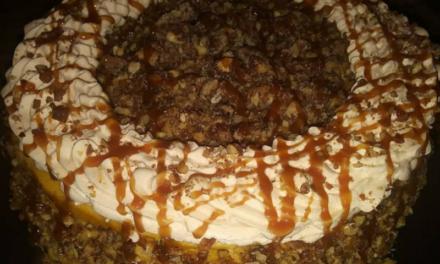 Shaun's Candied Pecan Pumpkin Cheesecake