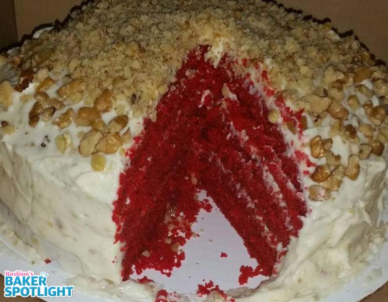Sherika Broddy's Red Velvet Cake