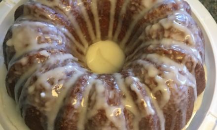 Bundt cake by Miles Stamps