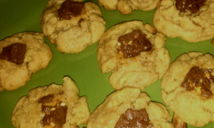 Chocolate Chip Peanut Butter Cookies by Katherine Meacham