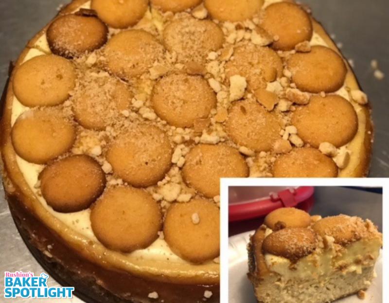Tanja Smith's Banana Pudding Cheesecake