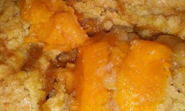 Salena Harris's Sweet Potato Cobbler