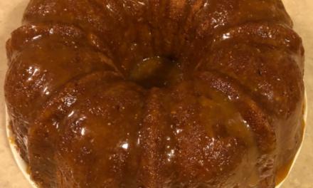 Apple Cake by Joyce Battle