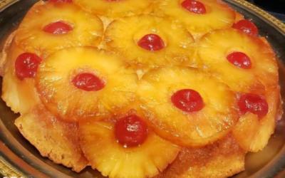 Mike Danko's Pineapple Upside Down Cake