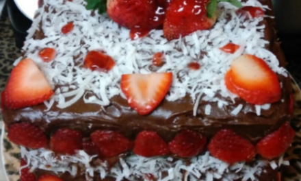 Devil's Food Chocolate Cake by Roberta Black