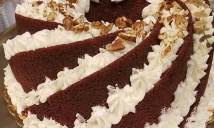 Red Velvet Rum Cake by Dorothy Rivers