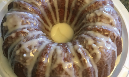 Michael Graham's Decadent Lemon Drizzle Pound Cake