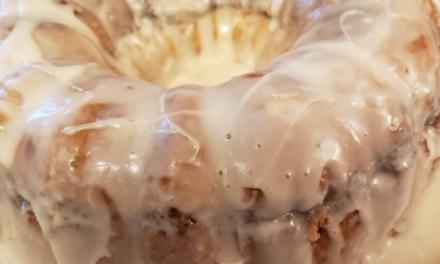 Jennifer May's Honey Bun Bundt Cake