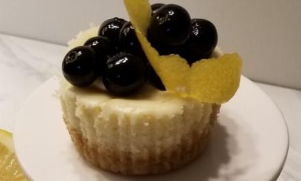 Sheila Howard's Lemon Blueberry Cheesecake