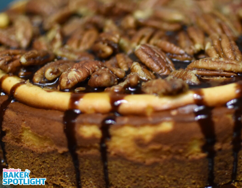 Turtle Cheesecake by Latorra Garland