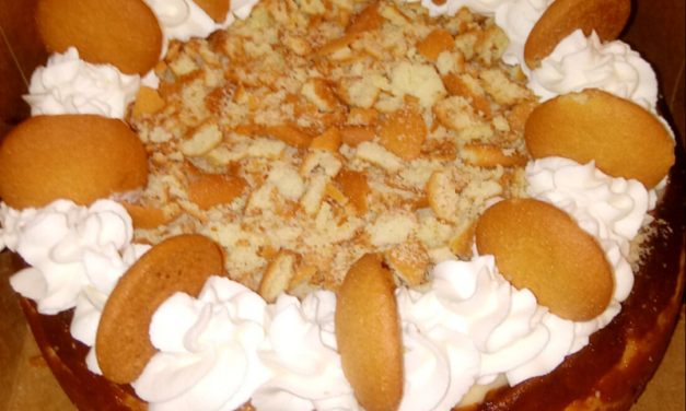 Banana Pudding Cheesecake by Wyanthia Webb
