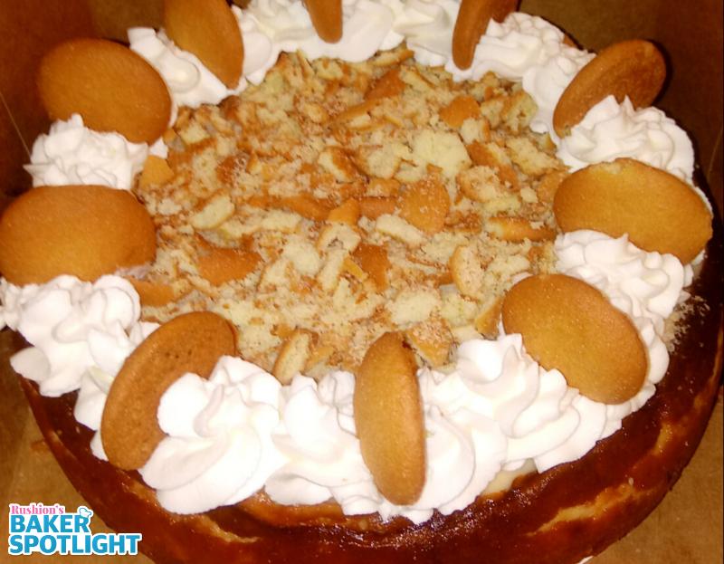 Banana Pudding Cheesecake by Wyanthia Webb