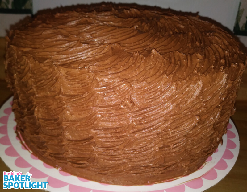 Butter Cream Chocolate Cake by Wanda Davis