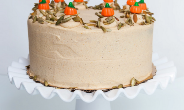 Pumpkin Cake by Andra Hall