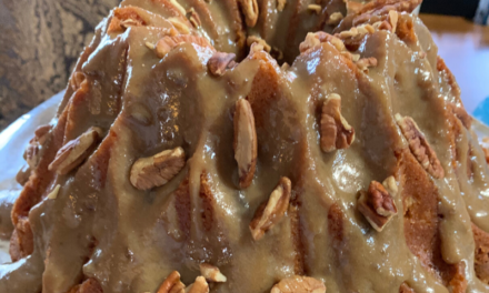 Brown Sugar Pound Cake by Lisa Savage
