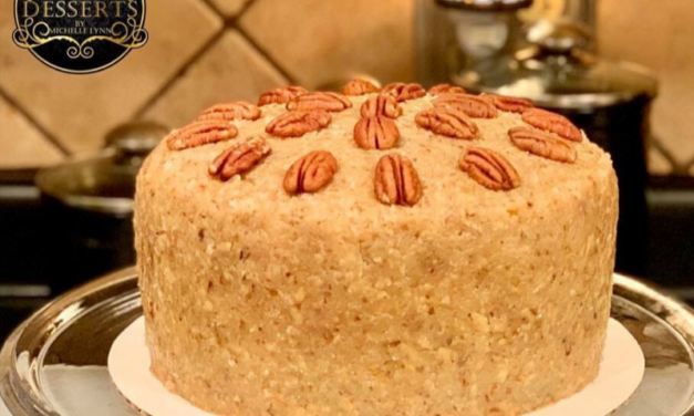 German Chocolate Cake by Michelle Lynn