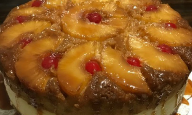 Pineapple Upside Down Cheesecake by Keisha Windom-Johnson
