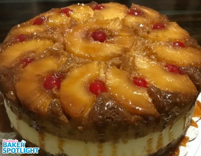 Pineapple Upside Down Cheesecake by Keisha Windom-Johnson