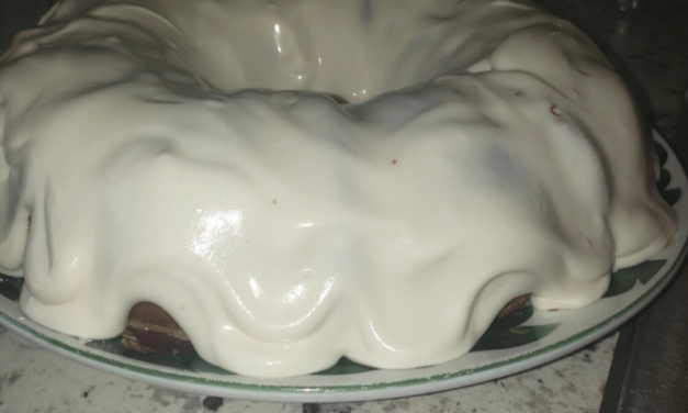Vanilla Buttermilk Pound Cake by Kamilah Rice