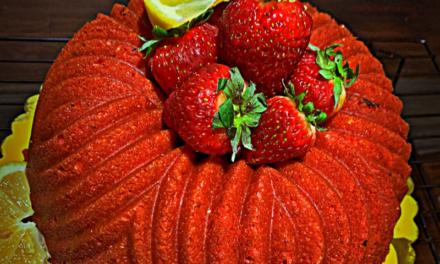 Strawberry Lemonade Cake by Keisha Windom-Johnson