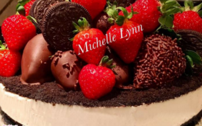 Stuffed Oreo Cookie Cheesecake by Michelle Lynn