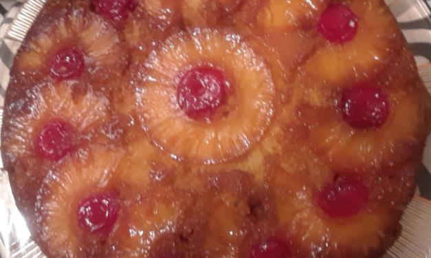 Pineapple Upside Down Cake by Serantha Jenkins